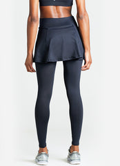 Skirted Legging (Black)