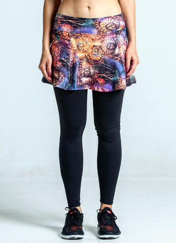Skirted Legging (Buddha/Blk)