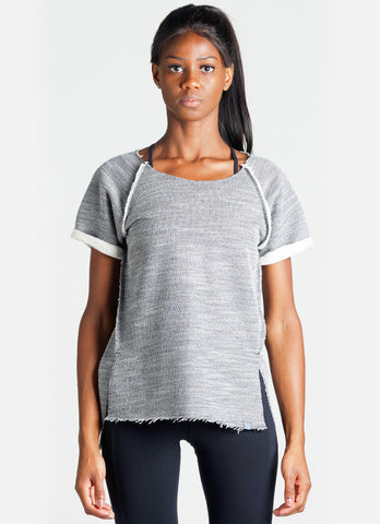 Relaxed Sweatshirt (Grey/blk)