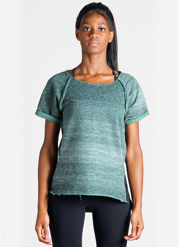 Relaxed Sweatshirt (Green/blk)