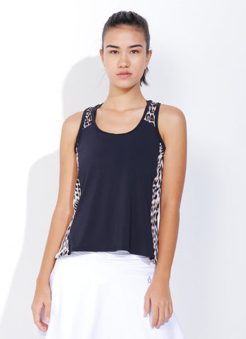 Net Tank (Black/Cheetah)