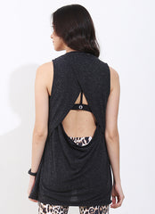 Choose Joy Tank (Grey)