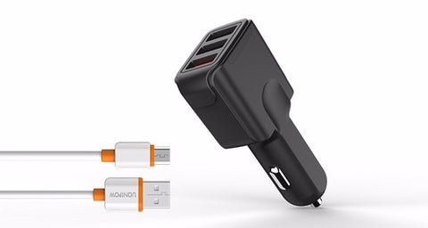 UONIPOW Quick charge 3.0 Car Charger