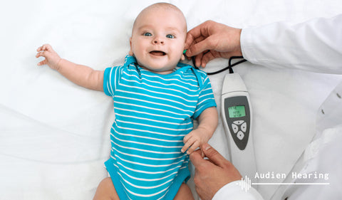 Acoustic reflex testing in babies
