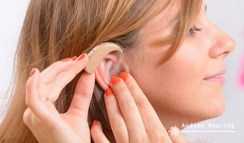 Post Concussion tinnitus treatment with hearing aid