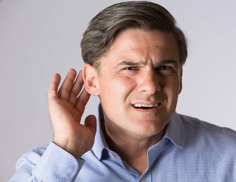 Middle aged guy who cant hear