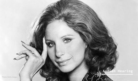 Image of pop icon Barbara Streisand