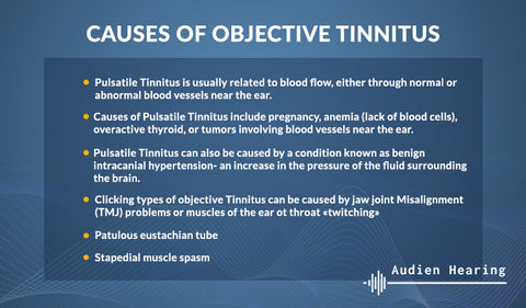Causes of objective tinnitus