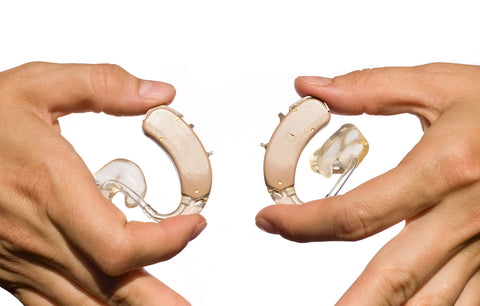 Pair of hearing aids
