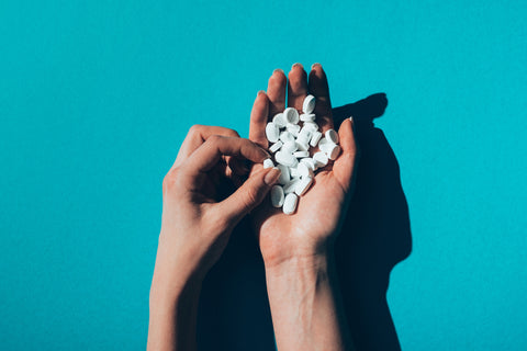 white pills for hearing problem