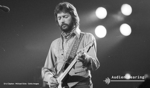 Image of famous musician Eric Clapton