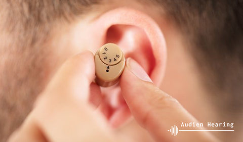 Image of hearing aid used regularly