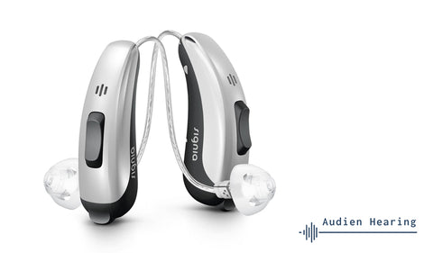 Image of receiver in canal hearing aids
