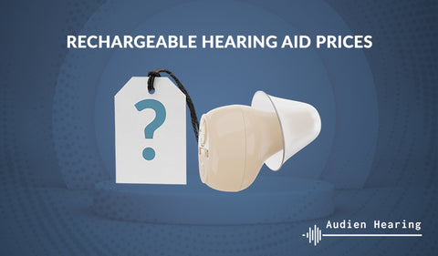 Rechargeable hearing aid prices