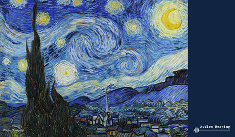 Image of a Starry Night by Vincent Van Gogh