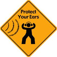 protect your ears sign