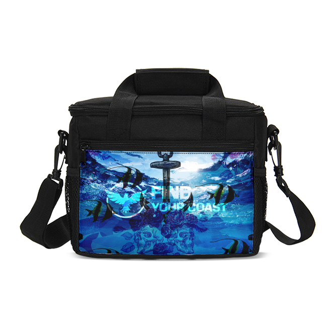Insulated cooler bag for refreshments