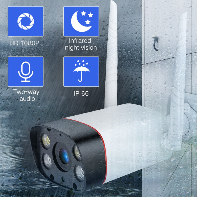 SDETER Waterproof WiFi Outdoor Security Camera 1080P