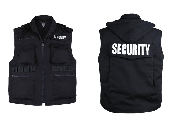 Men's or Women's SECURITY Uniform Vest