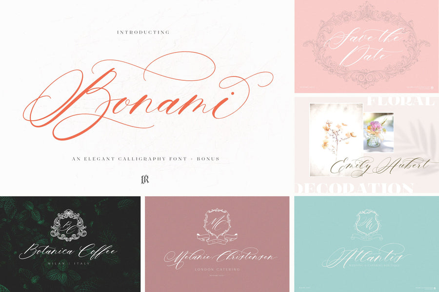 The Modern Fonts Bundle