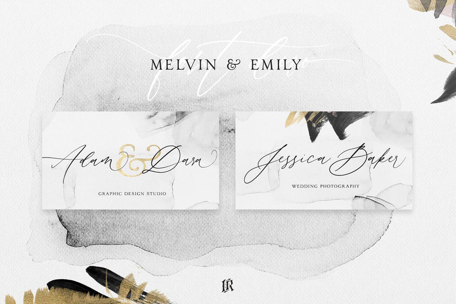 Melvin & Emily Font Duo