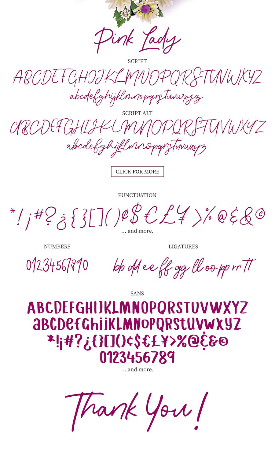 Pink Lady Font Duo