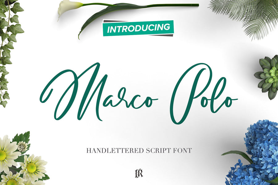 Handlettered Fonts Collection