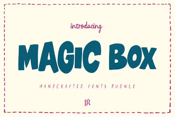 Magic Box - Handcrafted Fonts Bundle