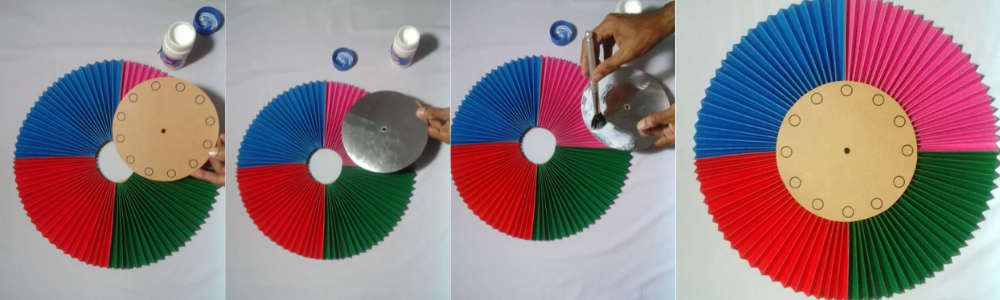 placer le centre horloge DIY