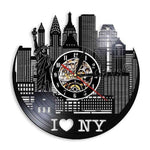 Horloge Murale New York Horaire