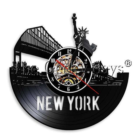 Horloge Murale New York Zen