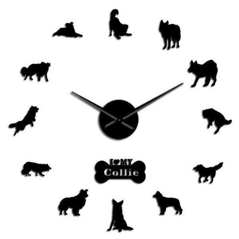 Horloge Murale Stickers Colley | Mon Horloge Murale