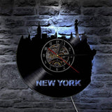 Horloge Murale New York Winter | Mon Horloge Murale