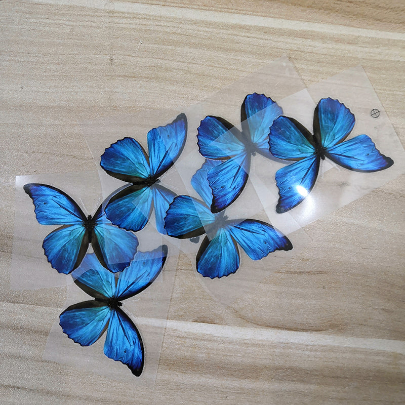DIY butterfly patches