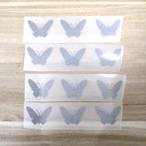 Small Reflective Butterfly Patches For Custom Air Force 1 Reflective Butterfly