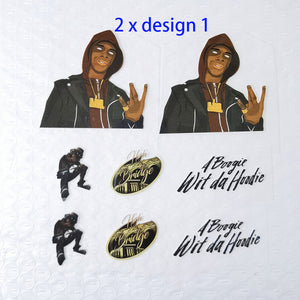 A boogie wit da hoodie stickers for shoes