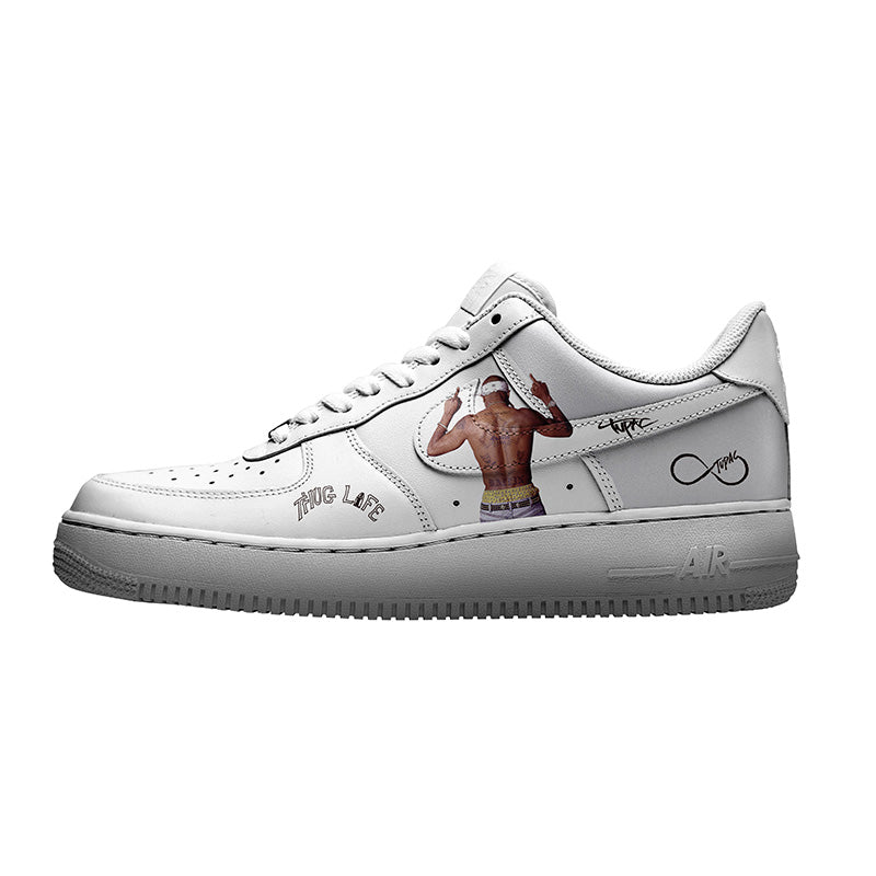 custom air force 1 tupac