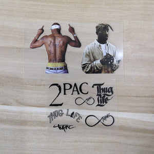 tupac patches for custom shoes