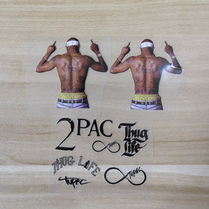 tupac stickers for shoes