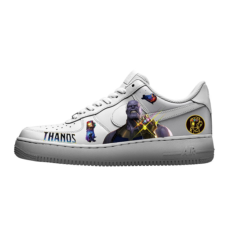 Heat Transfer Thanos Stickers, Iron on Marvel Thanos Patches for DIY/Custom Shoes Marvel