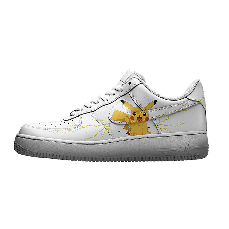 custom air force 1 Pikachu