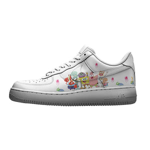 custom air force 1 Spongebob