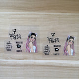 ariana grande patches for shoes