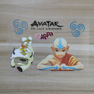 Avatar The Last Airbender patches for shoes