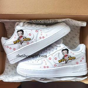 custom air force 1 Betty Boop