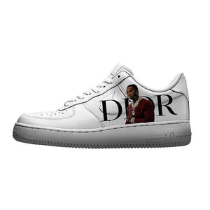 custom air force 1 pop smoke dior