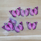 Purple Butterfly Stickers For DIY or Custom Air Force 1/Vans or Sneakers