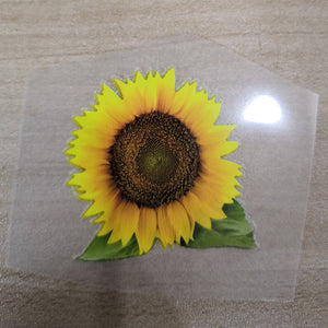 sunflower stickers for shoes