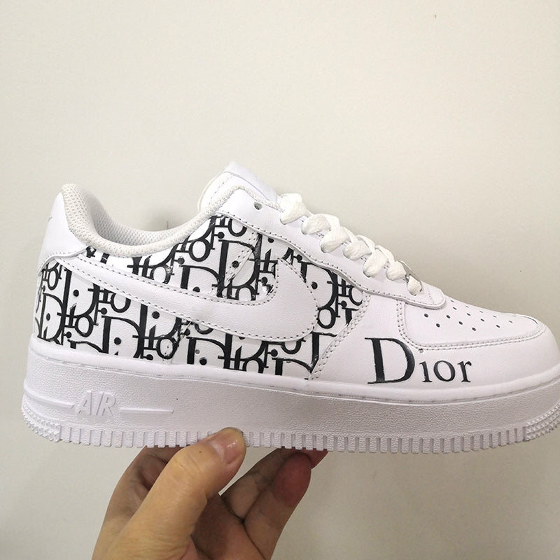 Pink Dior Monogram Patches For DIY or Custom Air Force 1 Dior