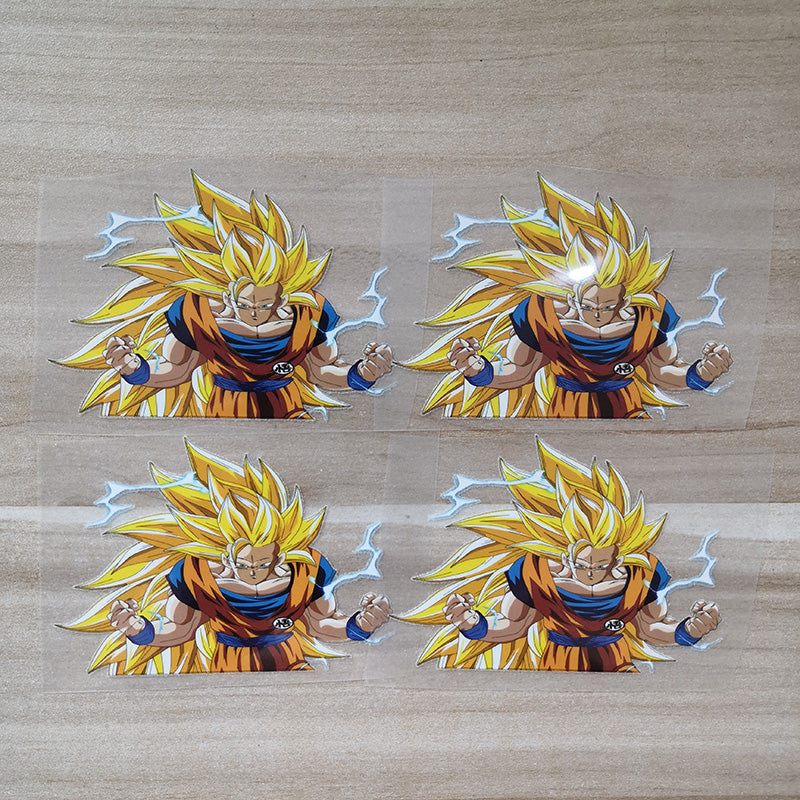 Dragon Ball patches for shoes